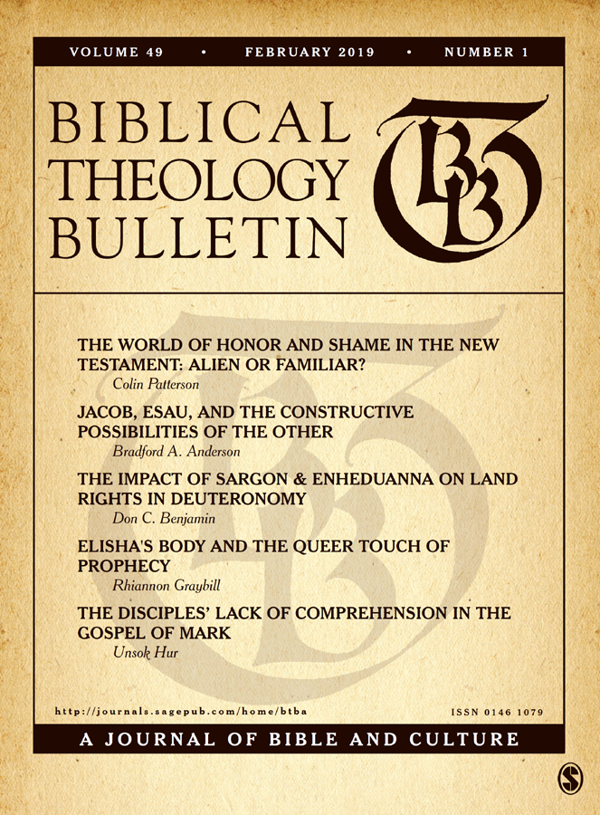 image of biblical theology bulletin