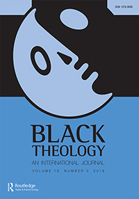 image of black theology journal