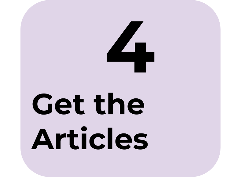 4) Get the Articles