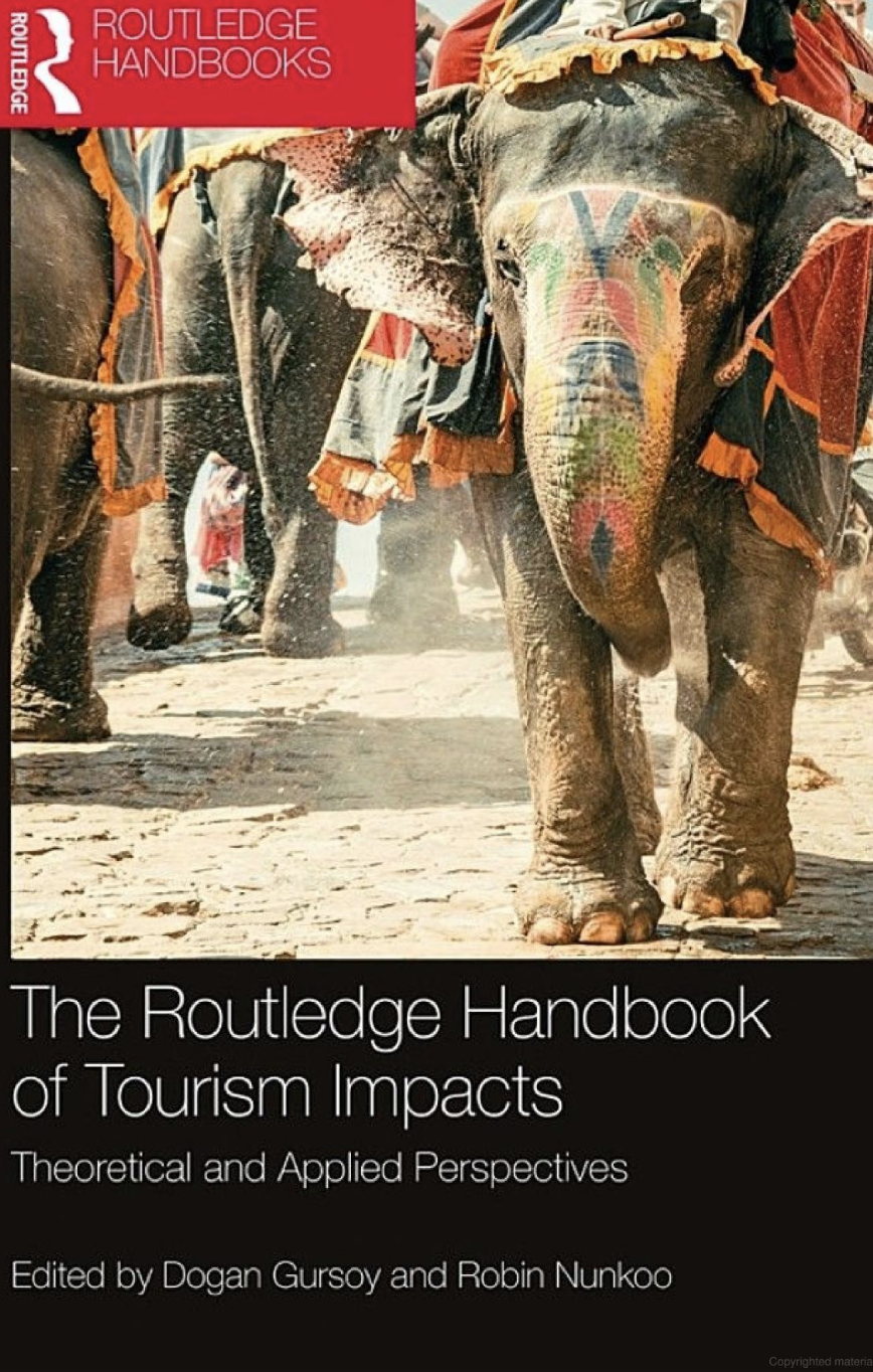 The Routledge Handbook of Tourism Impacts [cover image]