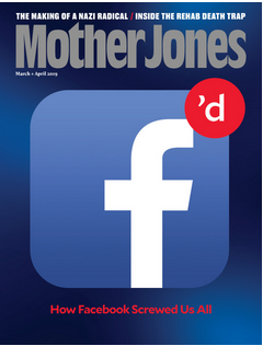 Mother Jones Magazine Cover