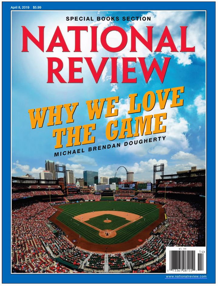 The National Review Magazine Cover
