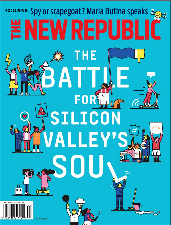 New Republic Magazine Cover