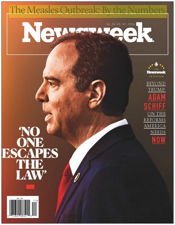 Newsweek Global Magazine Cover