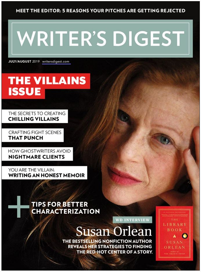The Writer's Digest Magazine Cover