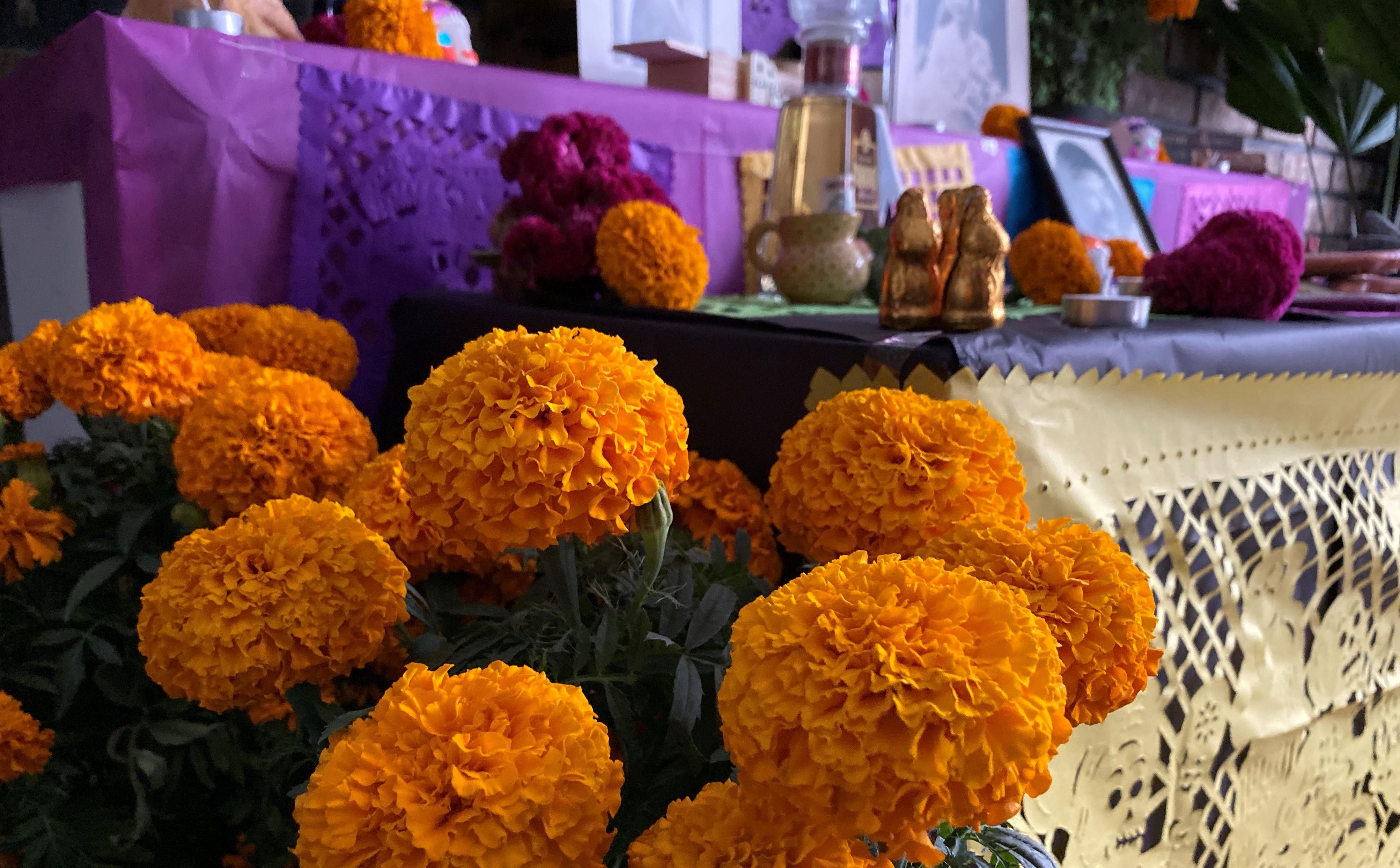 Recuerdo, Descubrimient y Voluntad: Costumbres ChicanasI del Día de Muertos