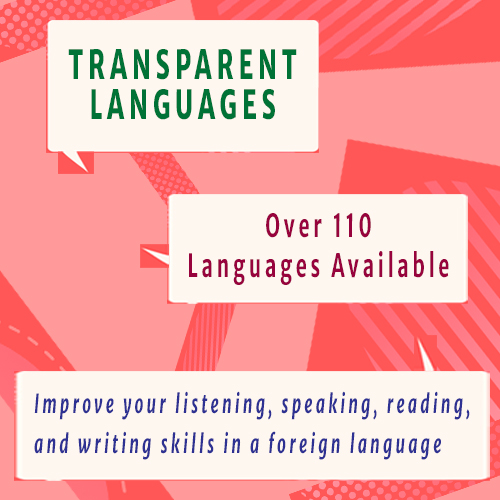 Transparent Languages database has over 110 languages to learn