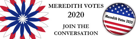 Register to join the Meredith community vote 2020 conversation