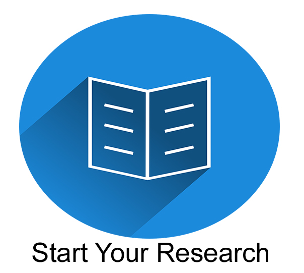 Start Your Research Search Icon