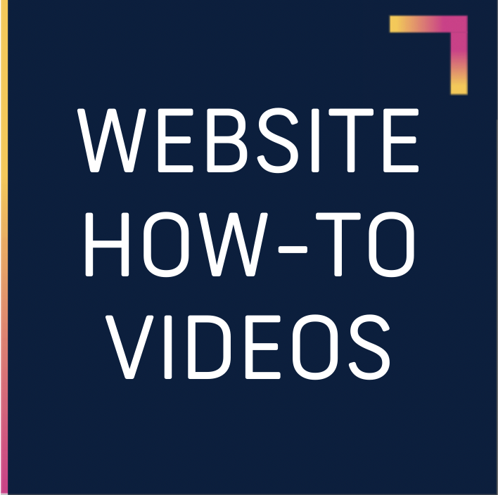 website how to videos box