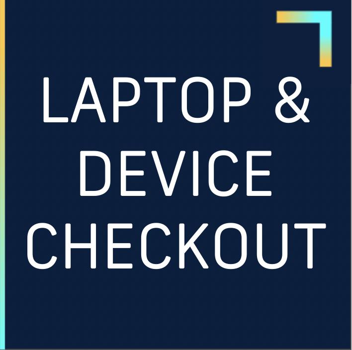 laptop device checkout box