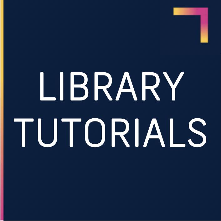 library tutorials