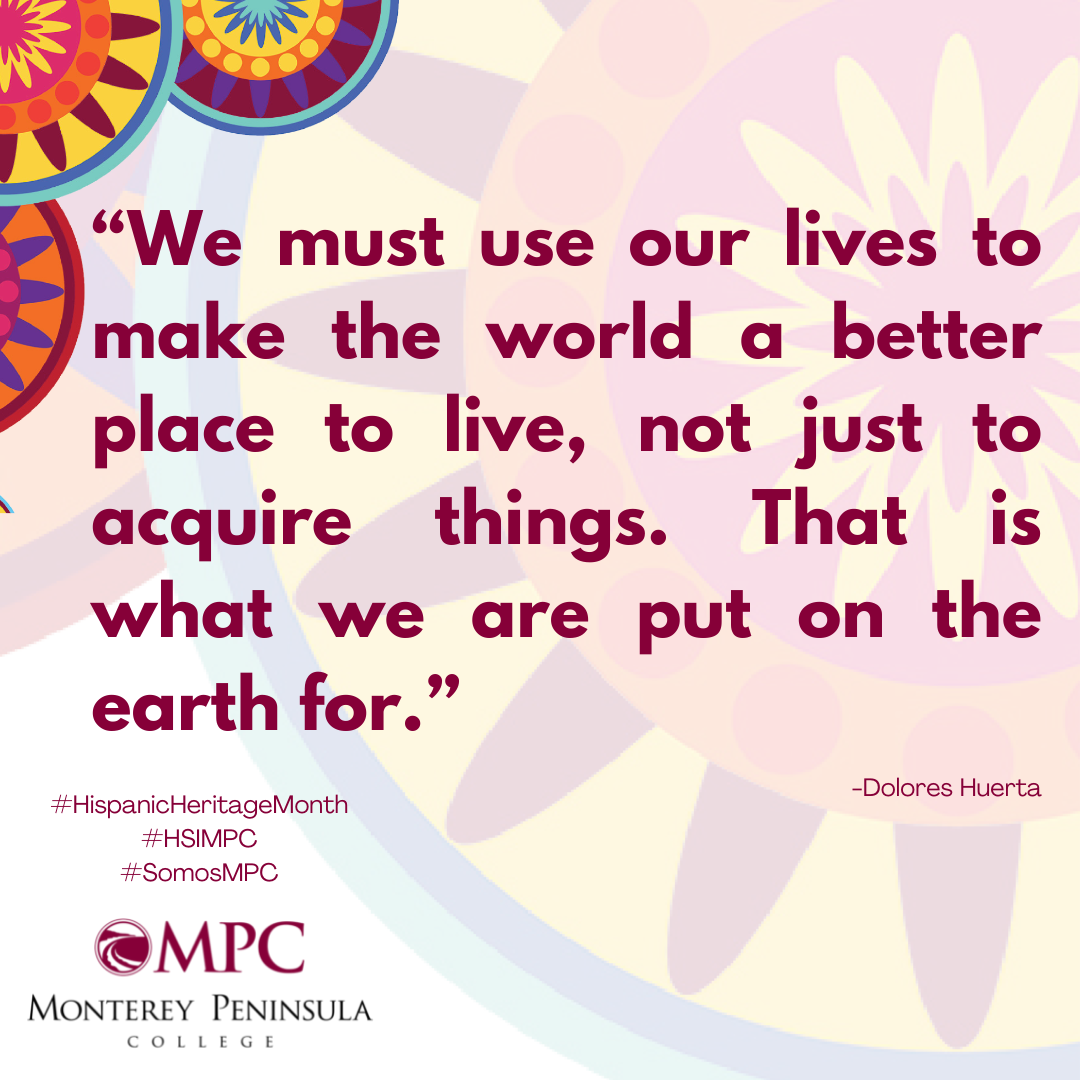 Quote Qe must use our lives to make the world a better place to live, not just to acquire things. That is what we are put on the earth for. Huerta