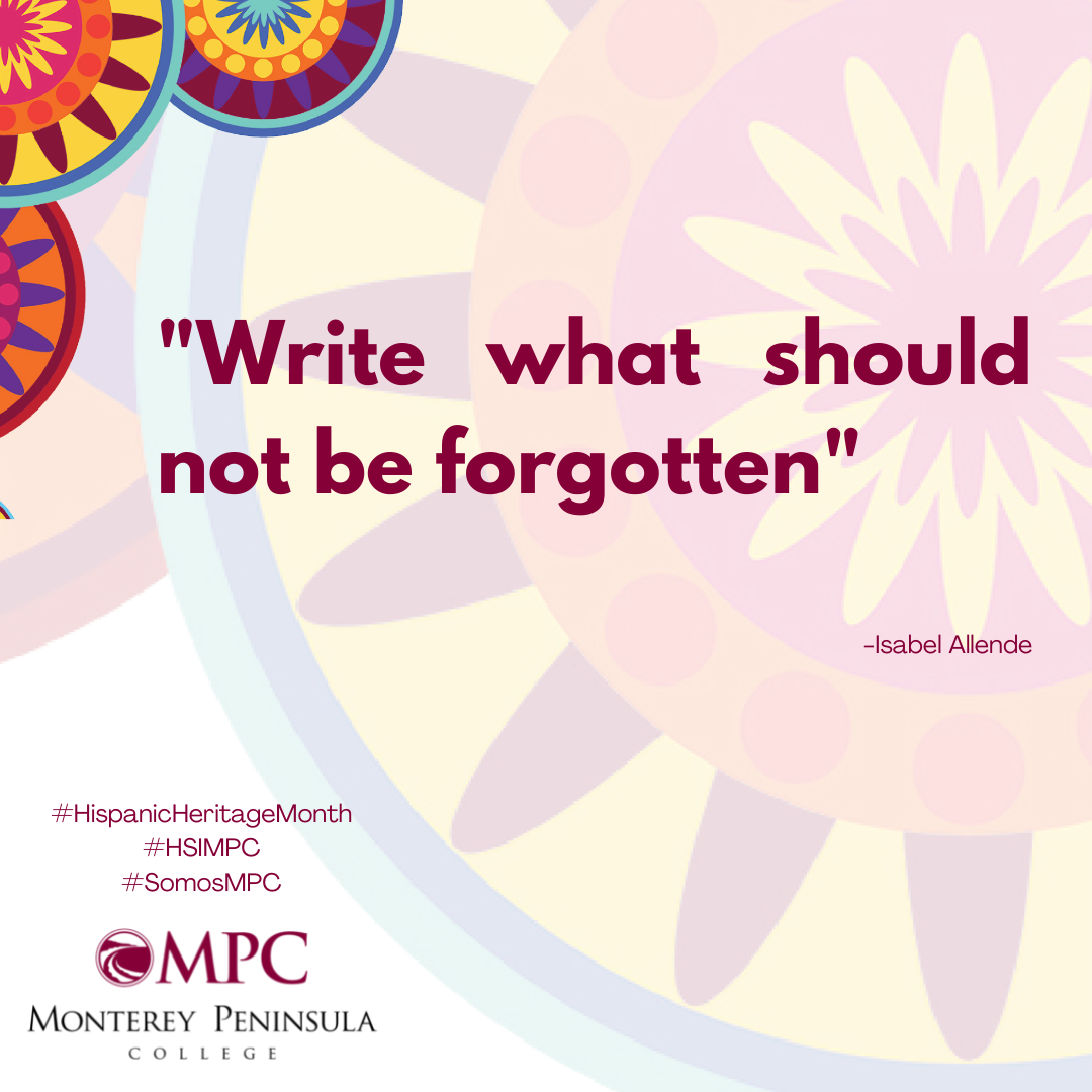Quote Write what should not be forgotten. Allende