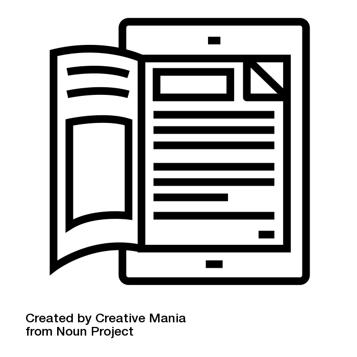 digital publishing icon
