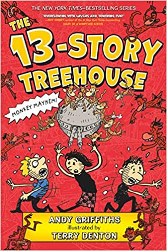 cover image The Thirteen Story Treehouse