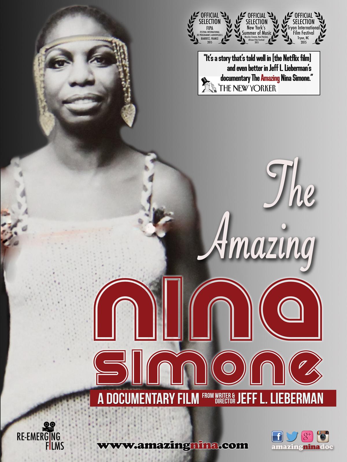 cover image, The Amazing Nina Simone