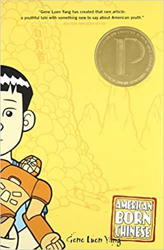 cover image, American Born Chinese