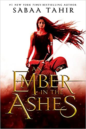 cover image, An Ember in the Ashes