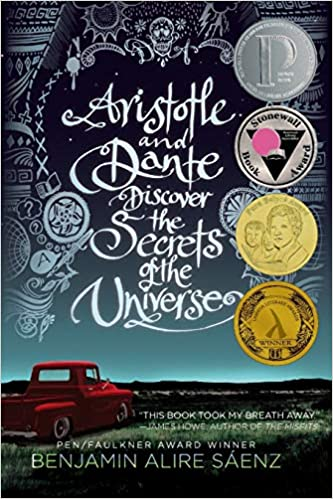 cover image, Aristotle and Dante Discover the Secrets of the Universe