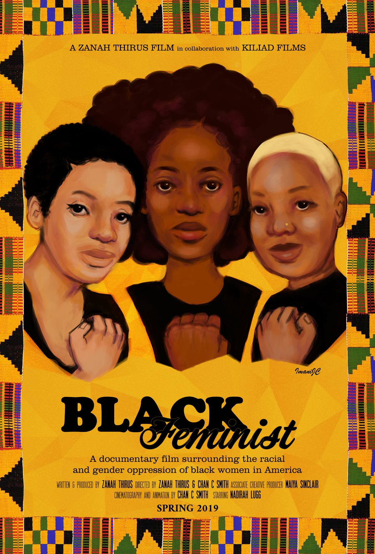 cover image, Black Feminist