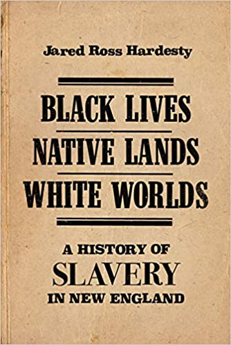 cover image, Black Lives, Native Lands, White Worlds