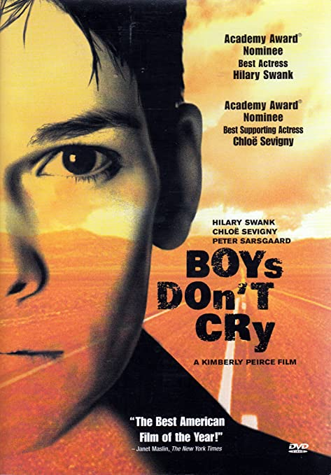 cover image, Boys Don't Cry