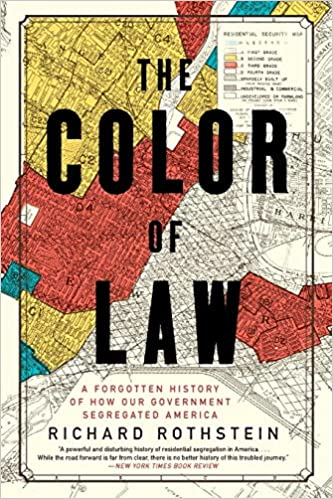 cover image, The Color of Law