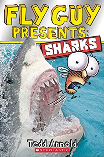 cover image Fly Guy Presents: Sharks!