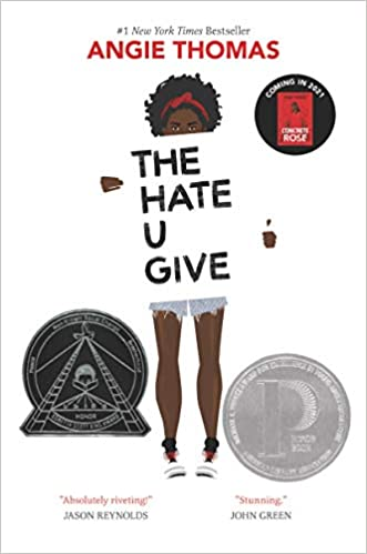 cover image, The Hate U Give