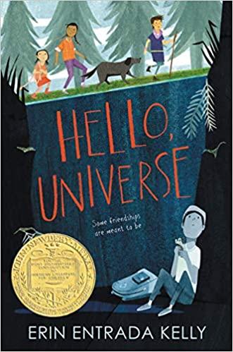 cover image, Hello Universe