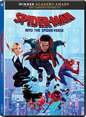 cover image Into the Spider-Verse