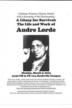 cover image: Litany for Survival: The Life and Work of Audré Lorde