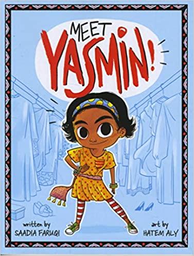 cover image, Meet Yasmin!