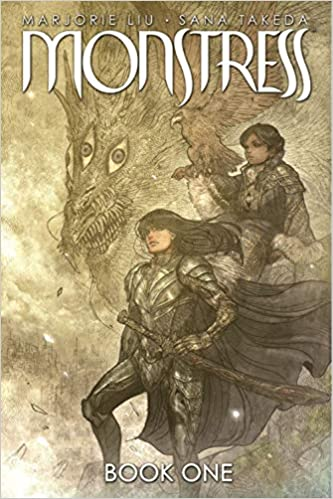 cover image, Monstress