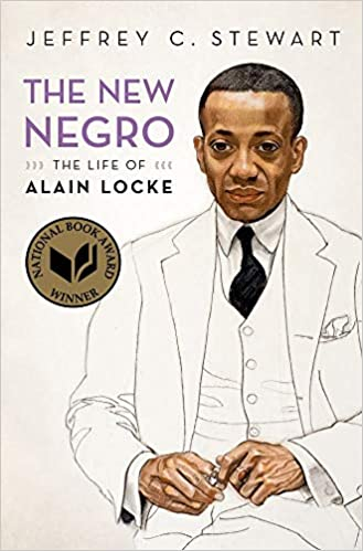 cover image, The New Negro (painting of Alain Locke, looking ahead but away)