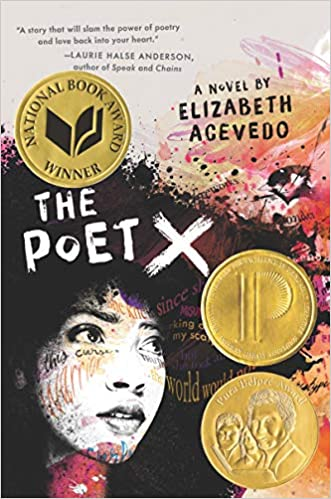 cover image, The Poet X