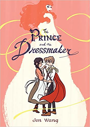 cover image, The Prince and the Dressmaker