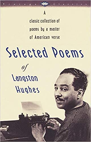 cover image, The Selected Poems of Langston Hughes
