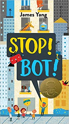 cover image, Stop! Bot!