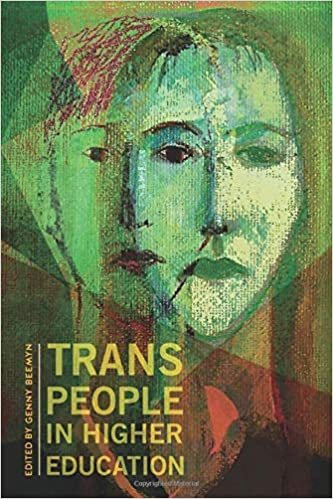 cover image, Trans People in Higher Education