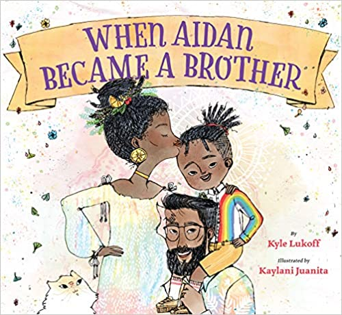 cover image, When Aidan Became a Brother