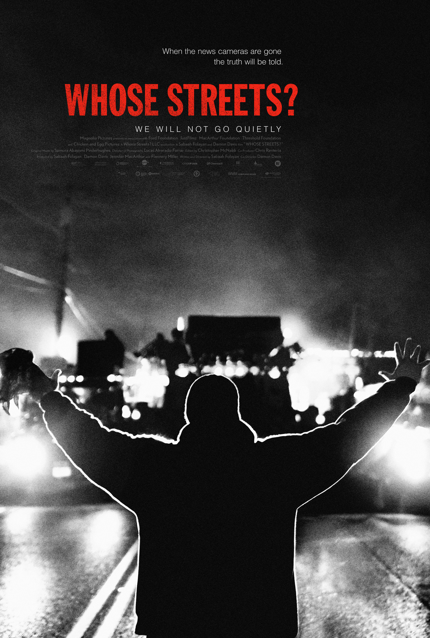 cover image, Whose Streets?