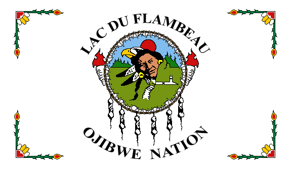 flag of Lac Du Flambeau Ojibwe