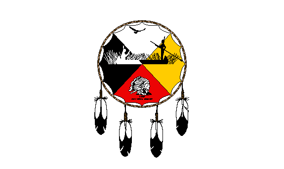 Sokaogon Chippewa Flag