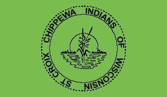 St. Croix Band of Lake Superior Chippewa Flag
