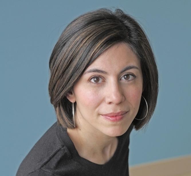 Author Cristina Henríquez, photograph by Michael Lionstar