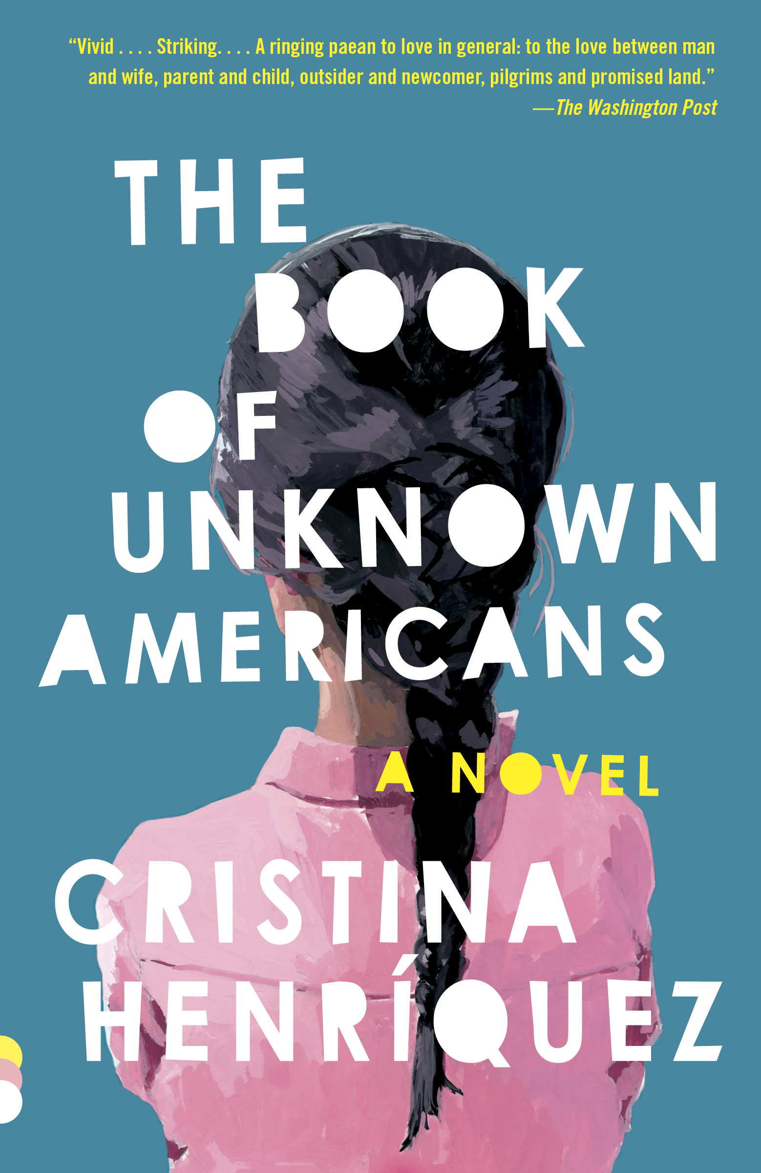 Cover art for The Book of Unknown Americans by Cristina Henríquez