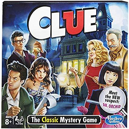 Clue game box