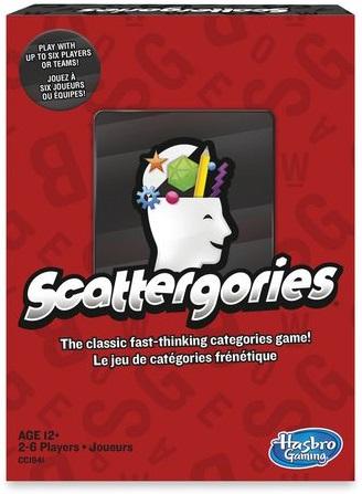 Scattergories game box